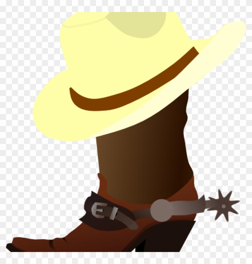 Free Western Clip Art Cowboy Cute Western Clipart Free - Cowboy Boot Clip Art #10038