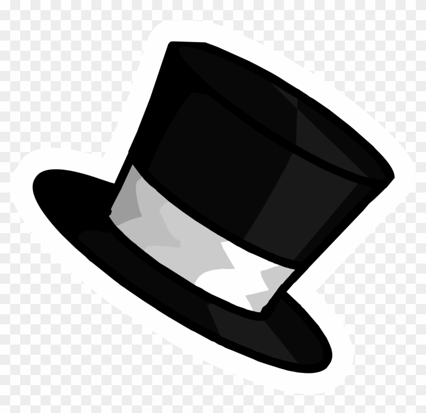 Trends For Black Top Hat Clip Art - Hat Clipart No Background #10041