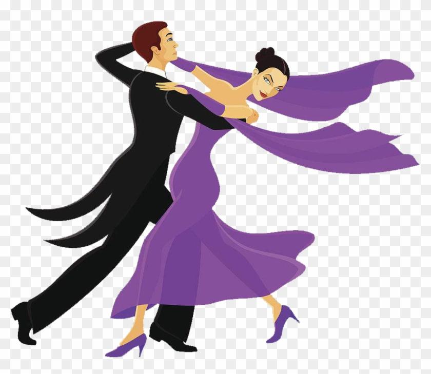 Ballroom Dance Clip Art - Clip Art Ballroom Dancers #10058