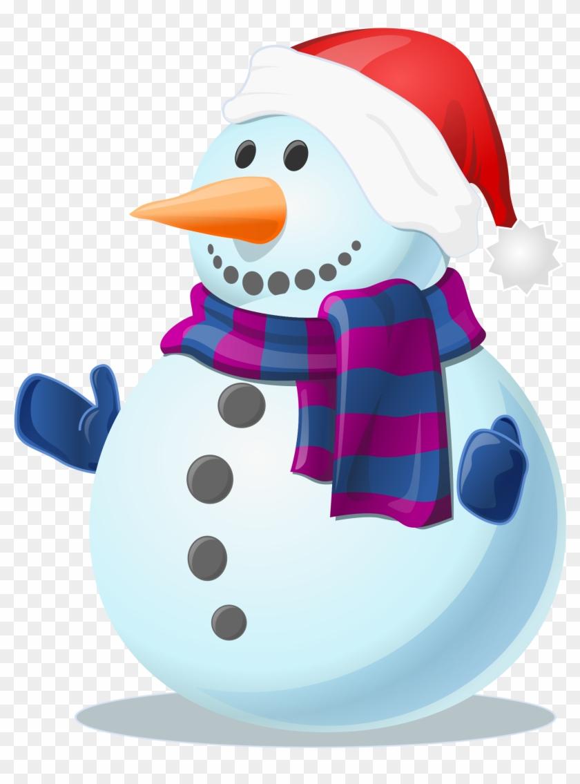 Big Image - Snowman Png #10064