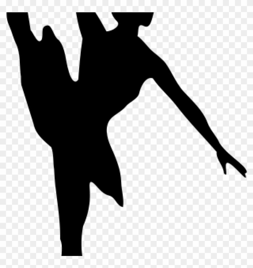 Free Dance Clip Art Dance Clipart Black And White Free - Ballet Dancer Silhouette #10070