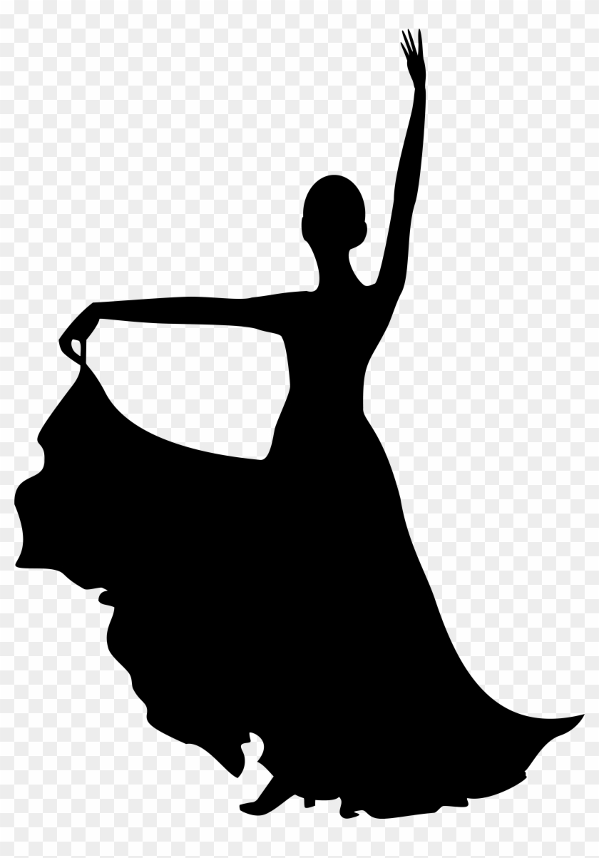 Spanish Dancer Silhouette Png Clip Art Imageu200b Gallery - Silhouette Spanish Dancer #10081