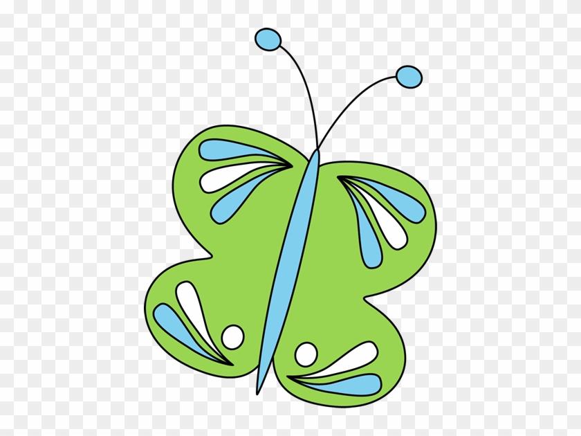 Green Butterfly - Green Butterfly #10093