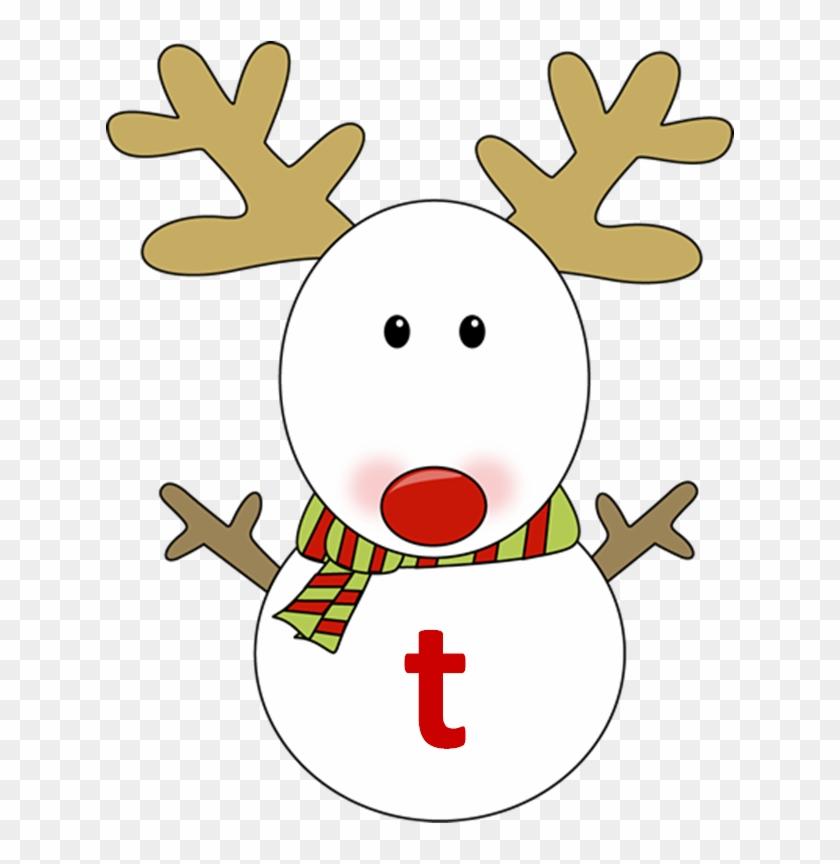 Reindeer Snowman - Reindeer Snowman #10119