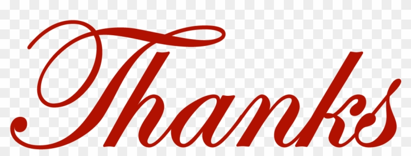 Thanks - Clipart - Thank You #10139