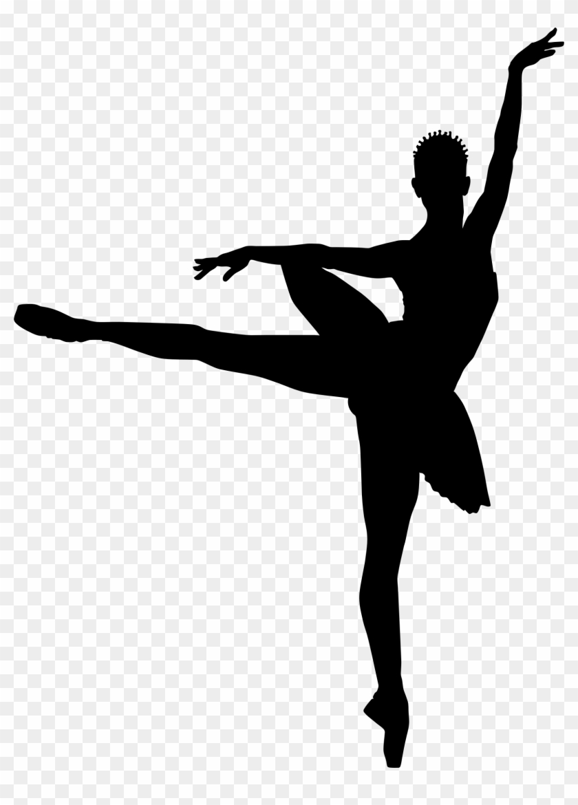 Ballerina Clipart Silhouette Png - Ballerinas Silhouette Png #10151