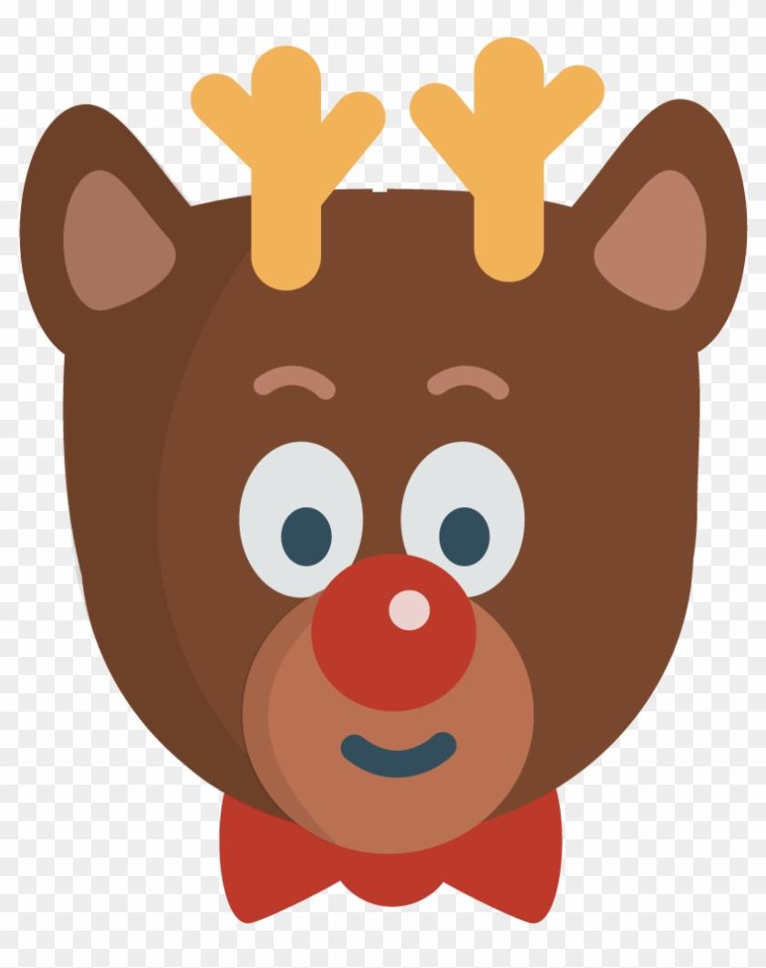 Rudolph Clip Art - Clip Art #10172