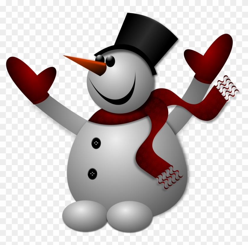 Snowman T-shirt - Frosty The Snowman Clipart #10186