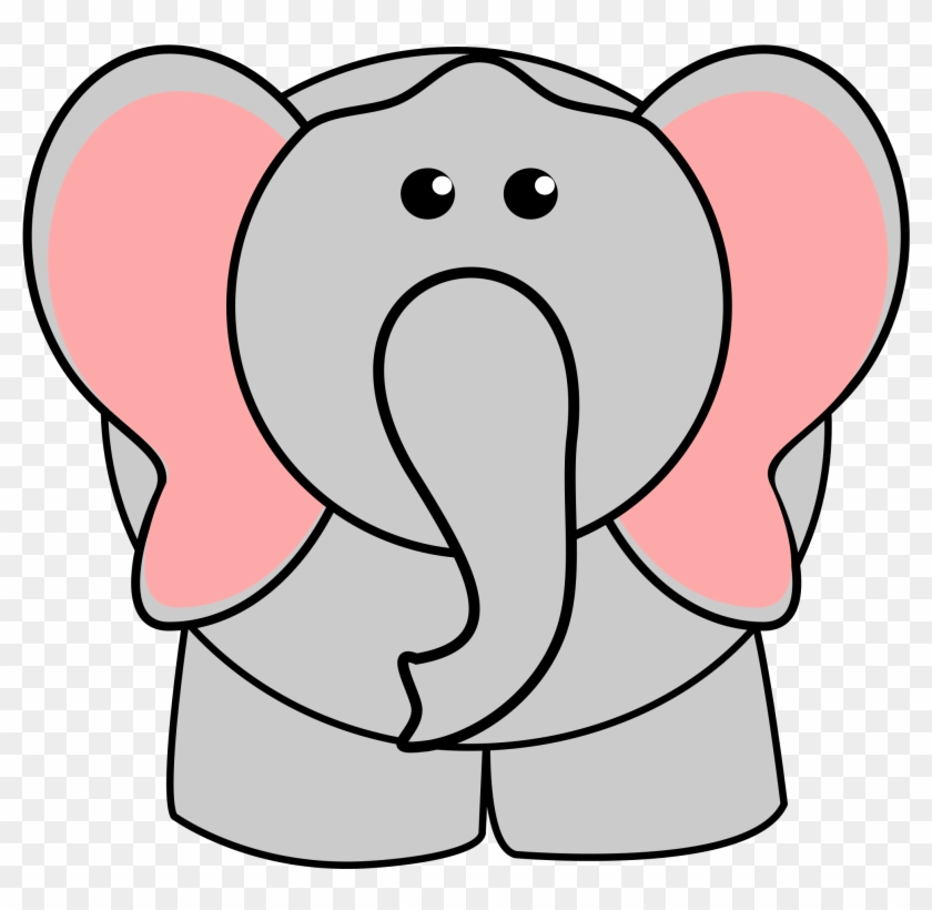 Elephant Clip Art 5 Clipartcow - Sad Cartoon Elephant #10191