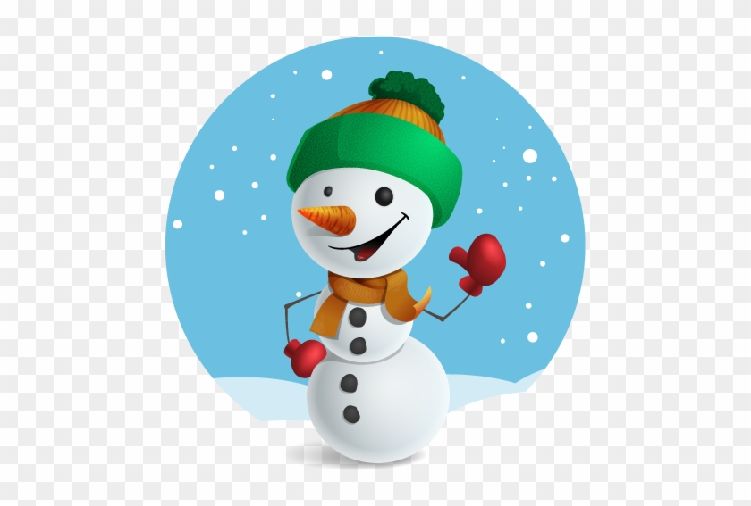 Snowman Free To Use Clipart - Snowman #10211