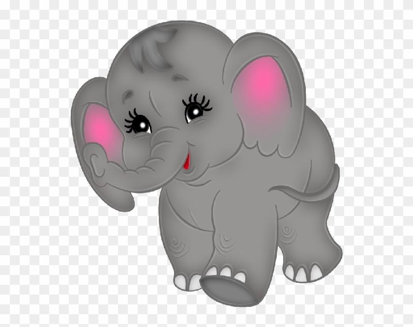 Baby Elephant Clipart - Cute Baby Elephants Clipart #10220