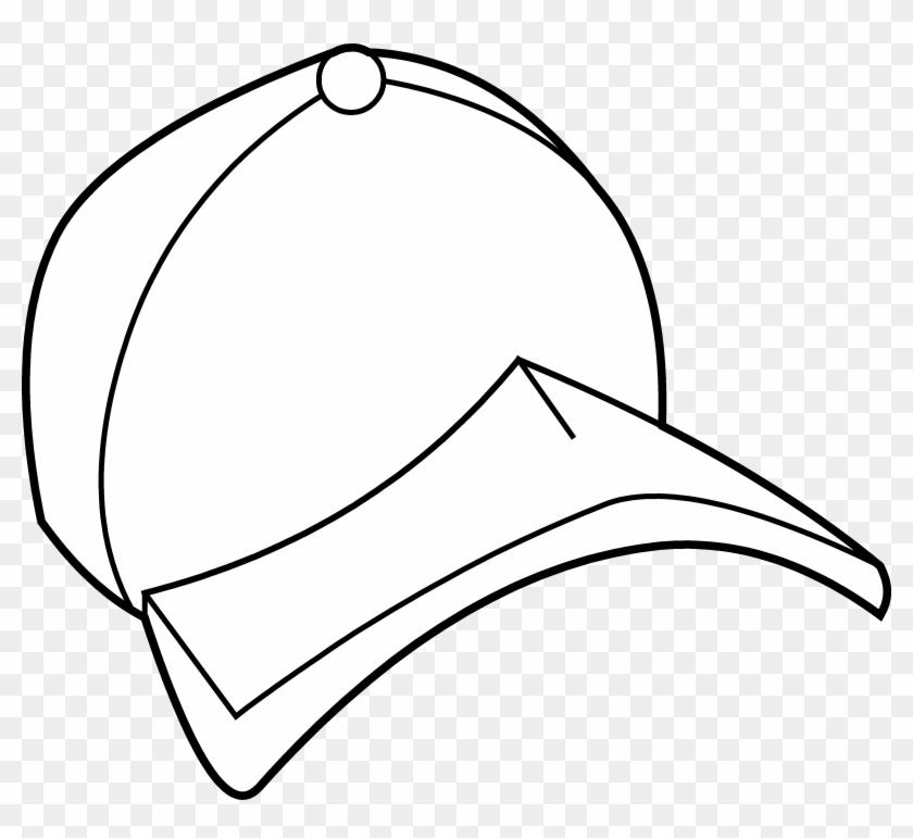 Baseball Cap Coloring Page - Baseball Cap #10245