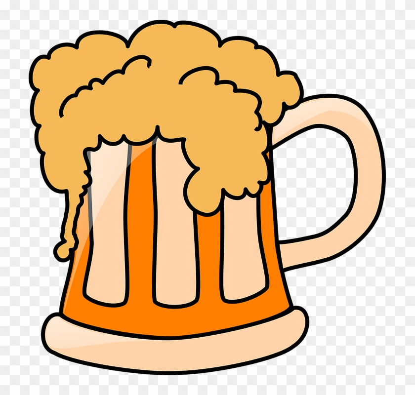 Beer Drinking Cartoon Pictures - Beer Clip Art #10238