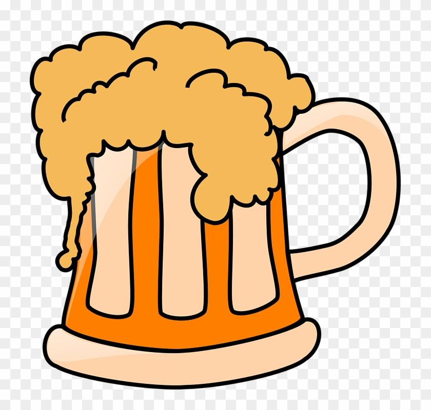 Beer Drinking Cartoon Pictures - Beer Clip Art #10238