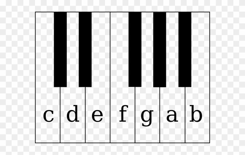 Piano - Keys - Clipart - White Keys On A Piano #10250