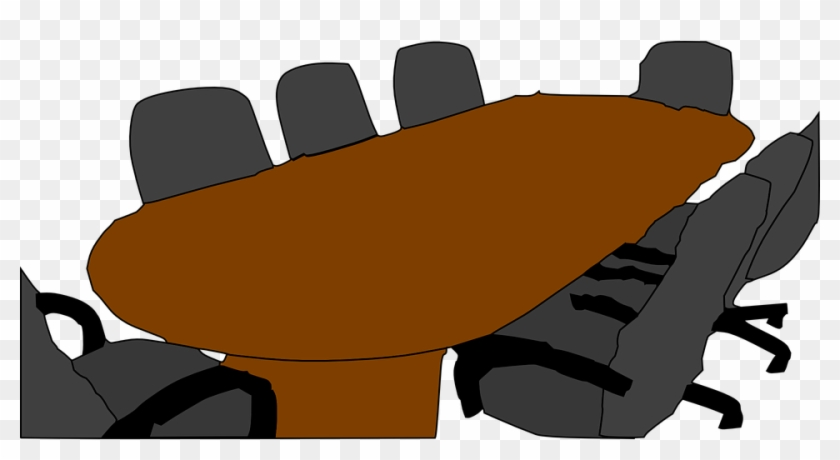 Clipart Meeting Table #10271