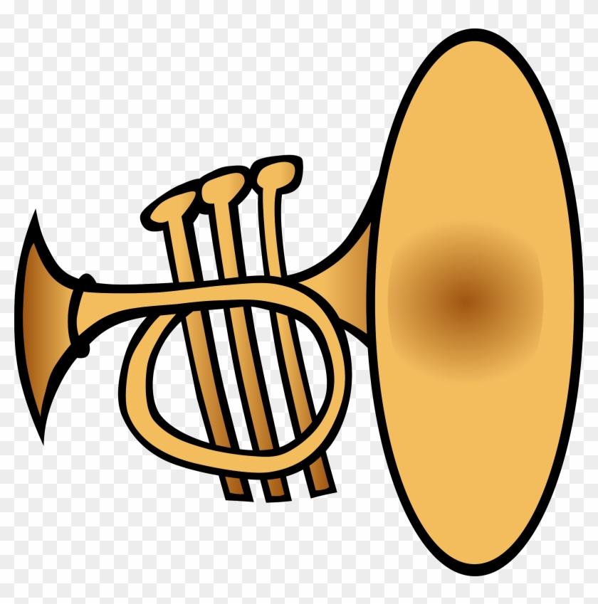 Big Image - Trumpet Clipart #10285