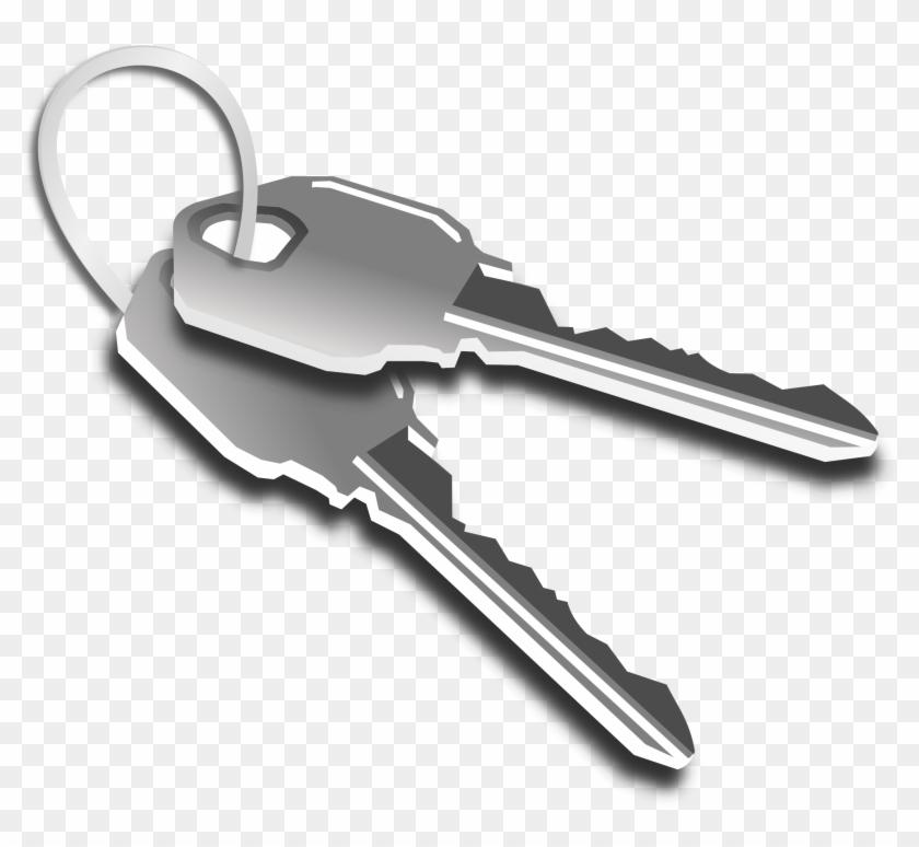 Free Golden Key Clip Art - مفاتيح ابواب #10290