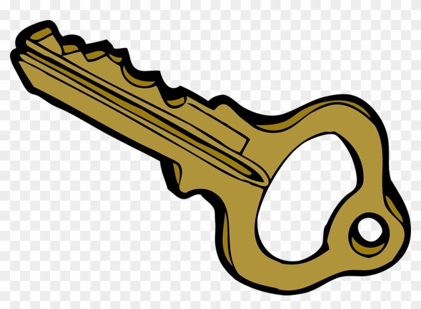 Key Clip Art - Key Clipart #10310