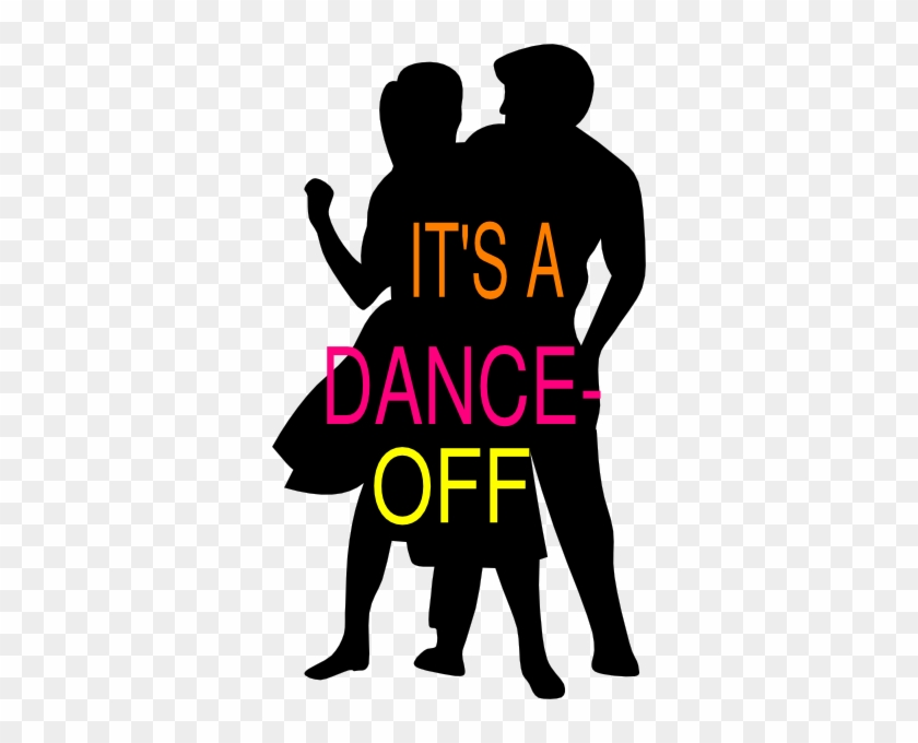 Dance Clip Art - Two People Dancing Silhouettes #10330