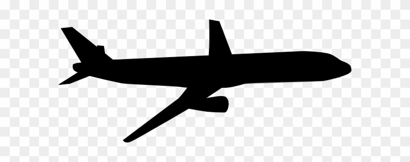 Airplane Clipart Black And White Free Clipart Images - Plane Black And White #10398