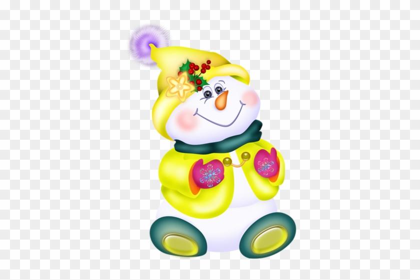 Christmas Clip Art Of Snowman - Snowman #10406