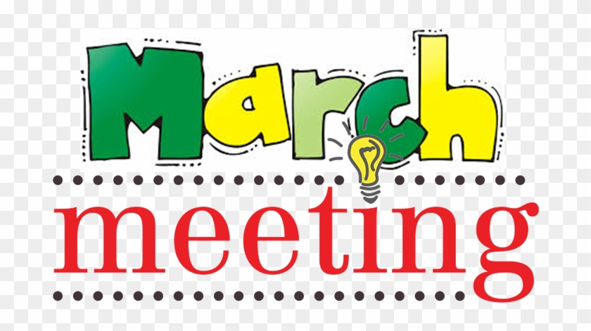 March 2018 Efan Monthly Meeting Agenda Items - Free Clip Art Meeting #10413