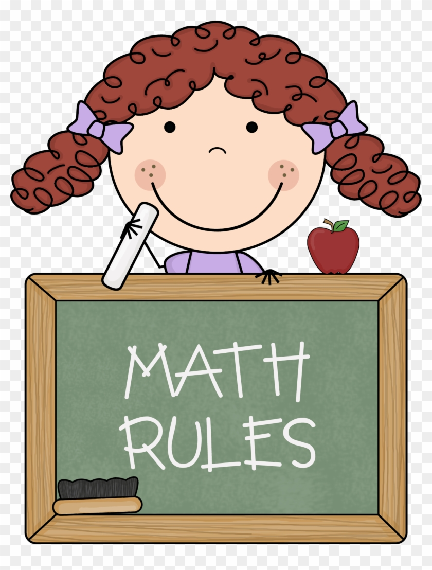 Free Maths Clipart For Teachers - Love Math Clipart #10424
