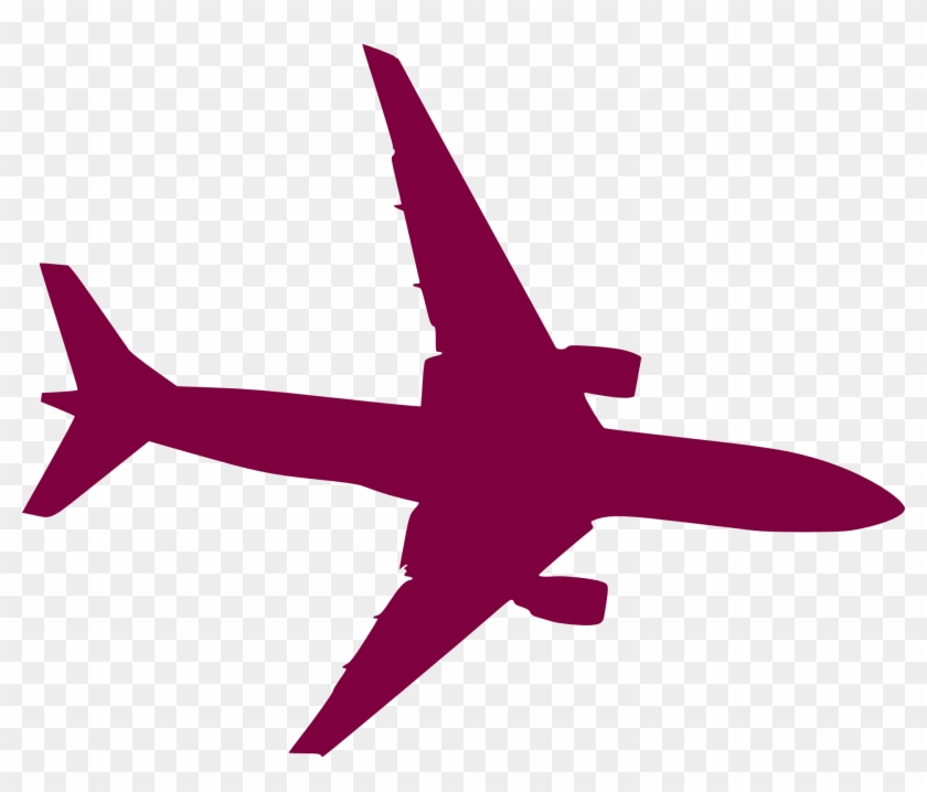 Airplane Aircraft Silhouette Clip Art - Plane Vector #10428