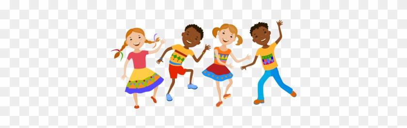 Dance - Kids Dancing Clipart Png #10449