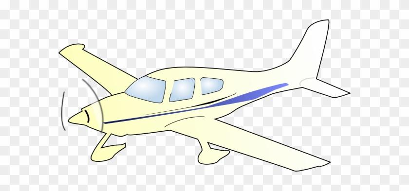 Free Vector Cessna Plane Clip Art - Plane Clip Art #10434