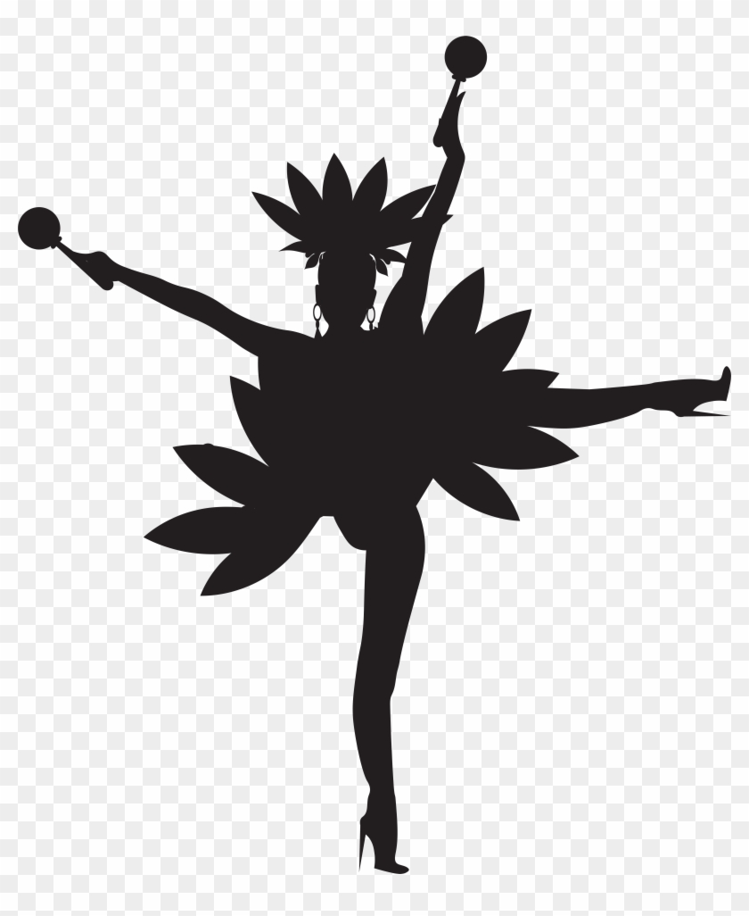 Brazilian Dancer Silhouette Png Clip Art Imageu200b - Brazilian Dancer Silhouette Png Clip Art Imageu200b #10505