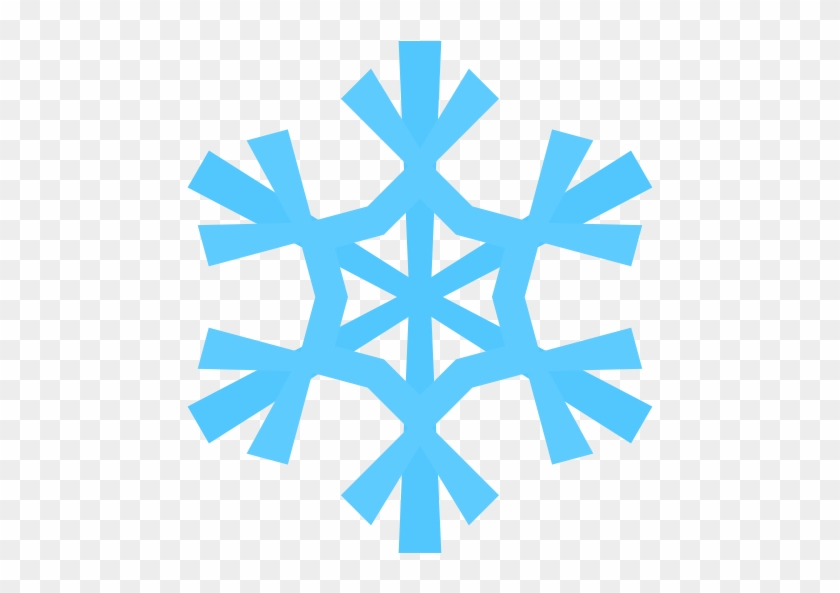 Cute Snowflake Clipart Snowman Catching Snowflakes - Snowflake Clipart Png #10469
