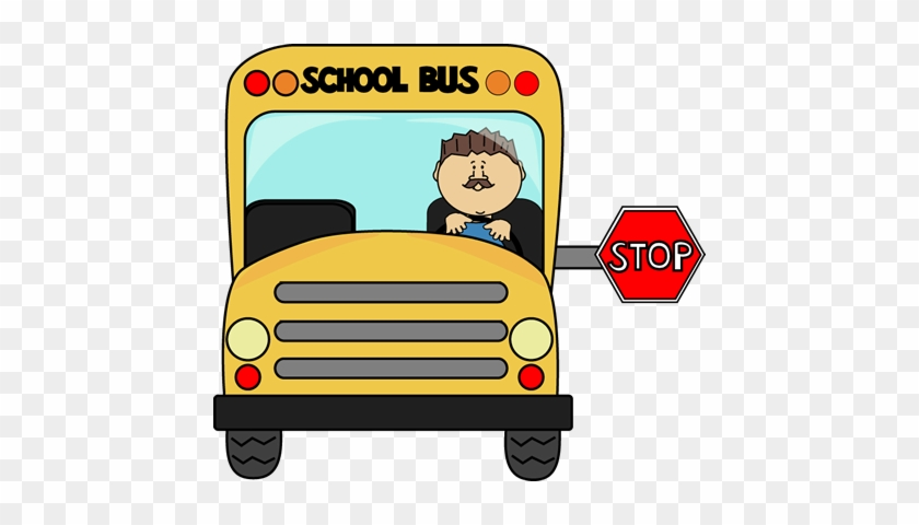Driver Clipart - School Bus Stay Seated #10502