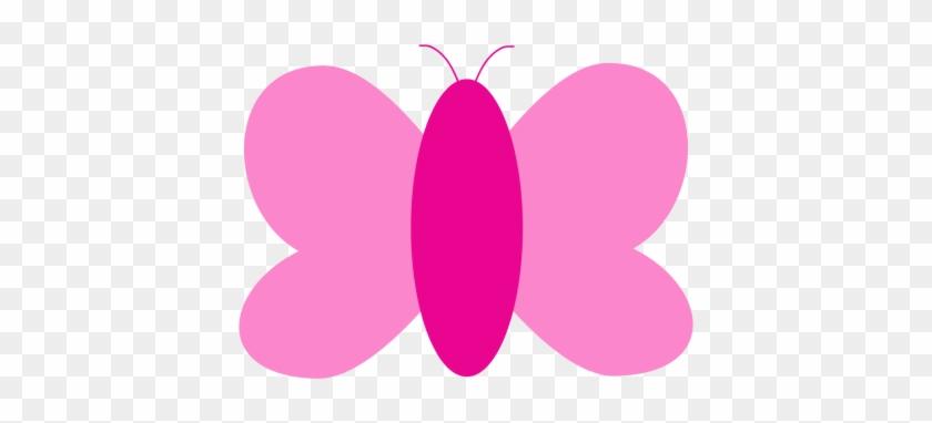 Clipart Info - Butterfly Pink Clip Art #10504