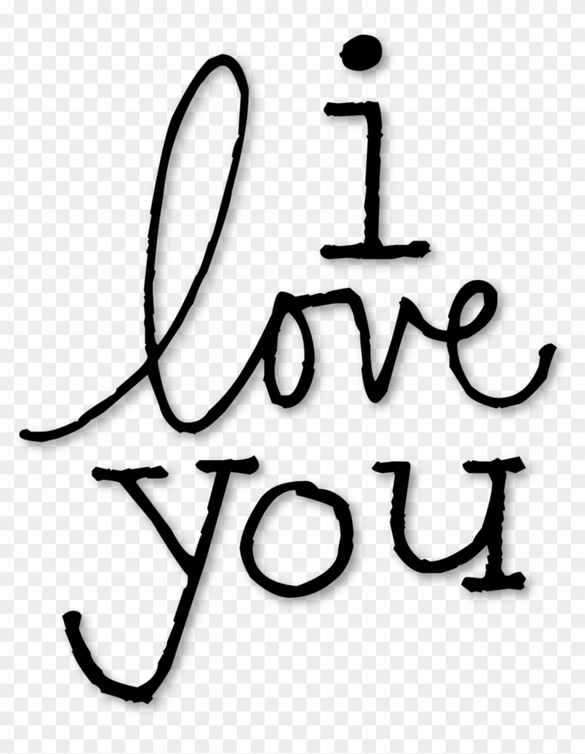 Love You Clipart Free Download On Png - Adecor I Love You More Pillow Cases Embroidered Cushion #10551