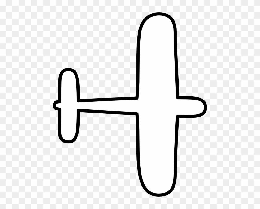 Simple Aeroplane Clip Art #10561