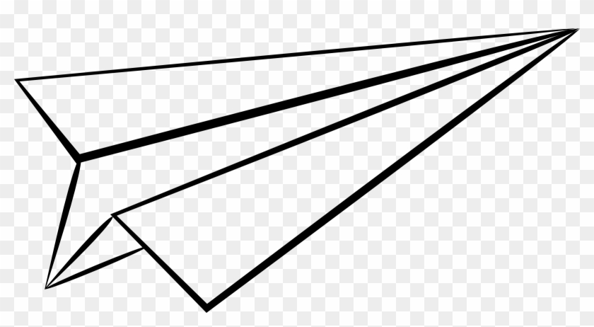 Airplane Clip Art Spamcoloringpages - Paper Plane .png #10566