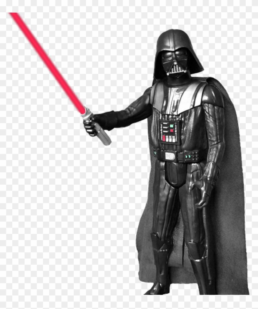 Darth Vader Clip Art Darth Vader Figure Transparent - Darth Vader Fighting Png #10589