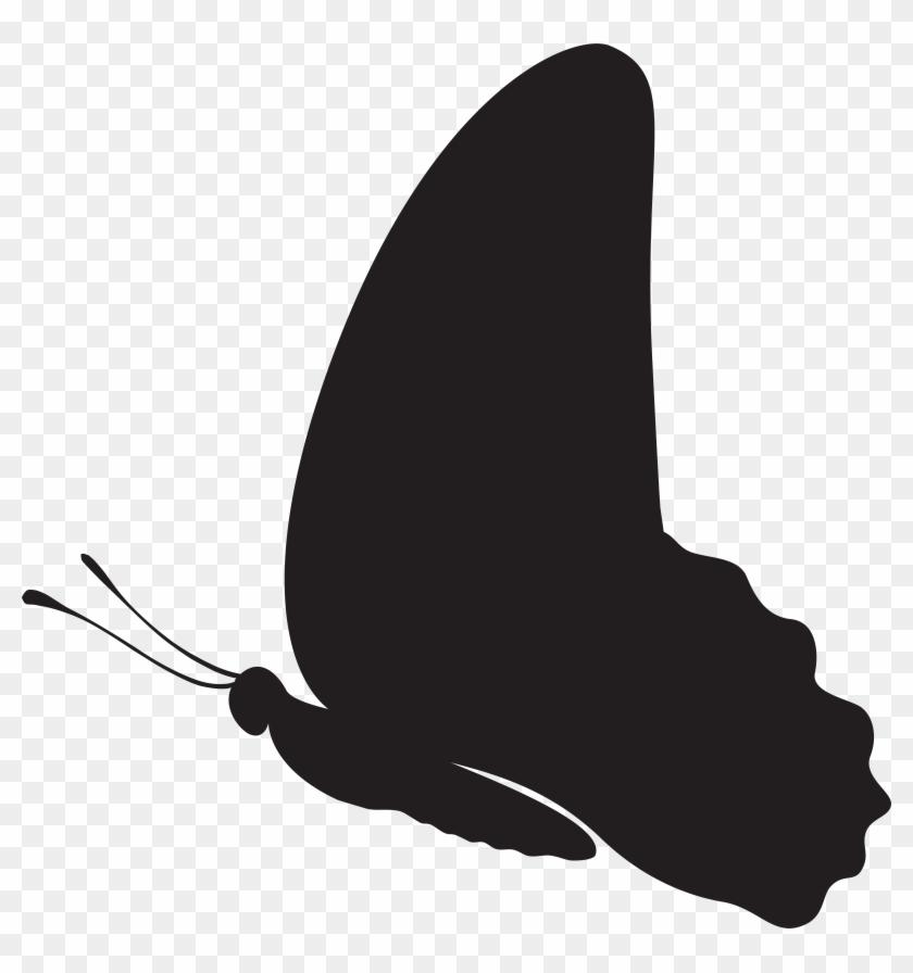 Butterfly Silhouette Clip Art Png Imageu200b Gallery - Butterfly Silhouette Clip Art Png Imageu200b Gallery #10634