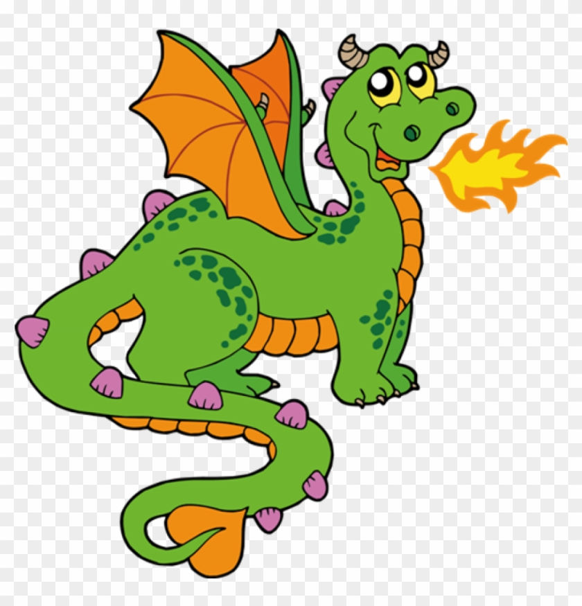 Dragon Clipart Cute Dragons Cartoon Clip Art Imagesall - Clip Art Of A Dragon #10591