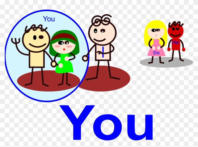 Personal Pronouns Objective Clip Art Clipart Free Download - You Pronoun Clipart #10596