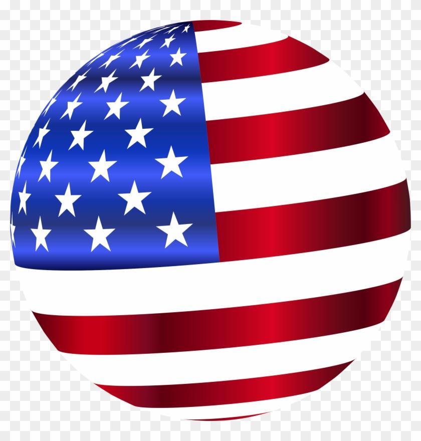 American Flag Worn Clip Art - Usa Flag Clip Art #10603