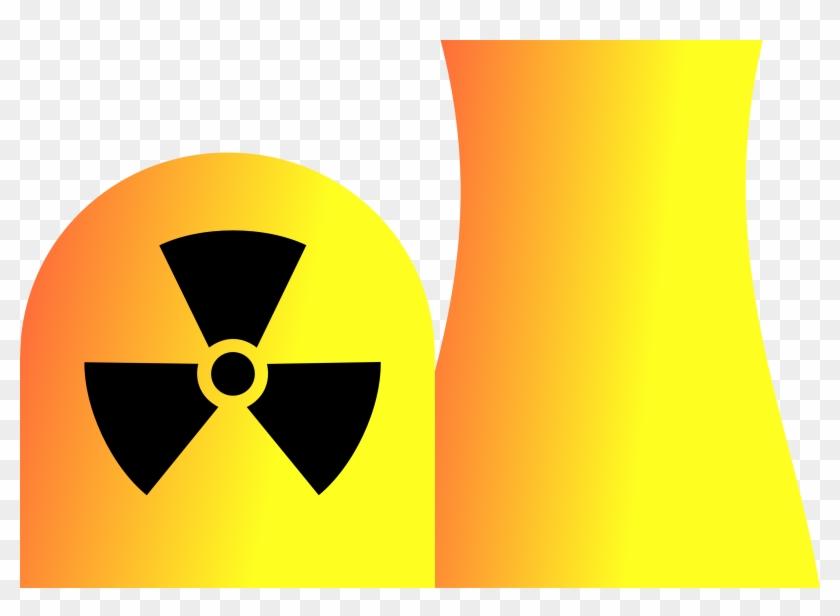 Power Plant Clip Art - Nuclear Power Plant #10616