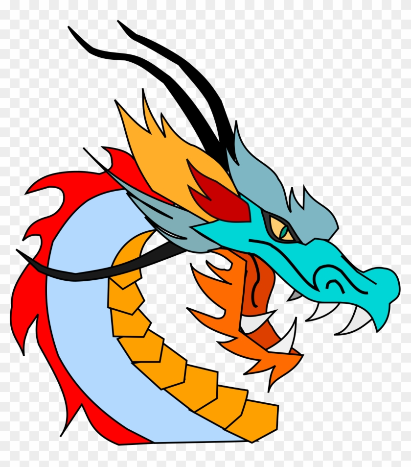 Open - Clipart Dragon #10632