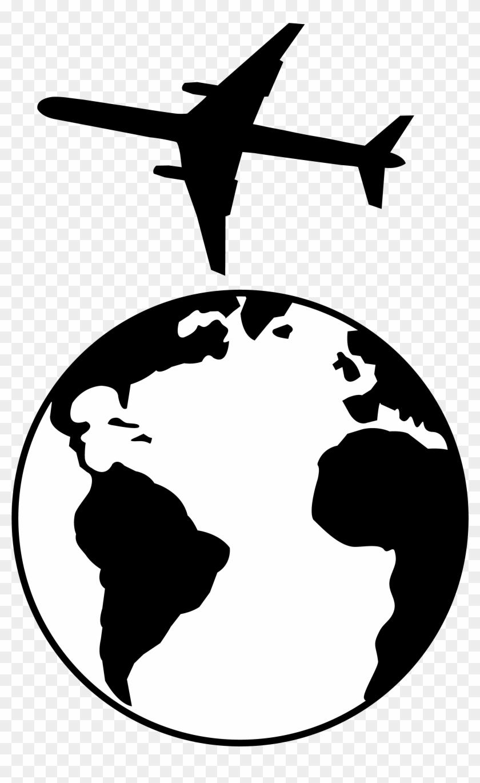 Vintage Airplane Cartoon Black White Stock Vector (Royalty Free) 1112030957