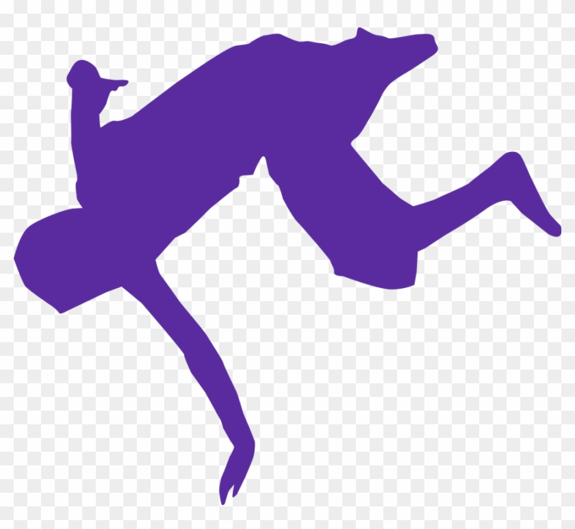 Ballet Dancer Svg Vector File, Vector Clip Art Svg - Break Dance #10654