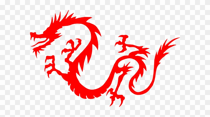 Clipart Chinese Dragon Dragon Red Clip Art At Clker - Chinese New Year Dragon Transparent #10657