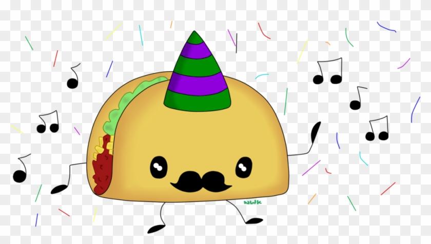 Taco Salsa Dance Mexican Cuisine Clip Art - Dancing Taco #10671