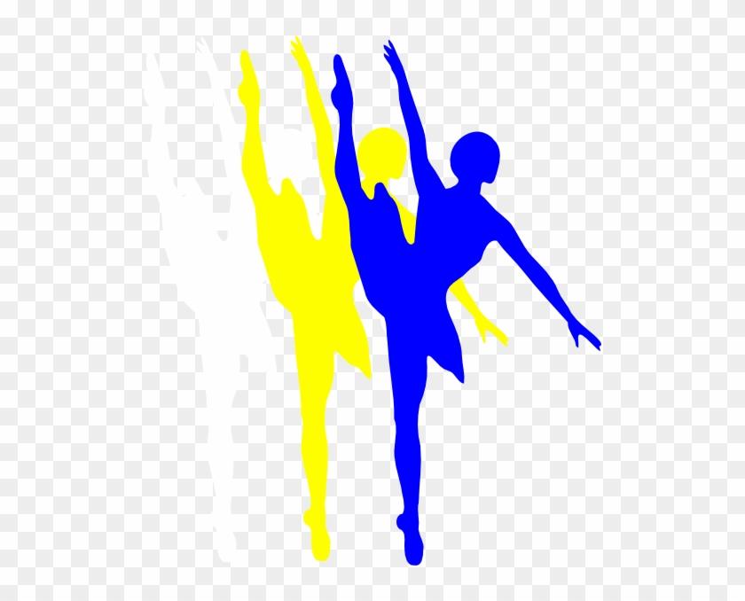 Ballerina Silhouette Cut Clipart - Ballet Dancer Silhouette #10676